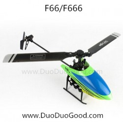 MJX RC Helicopter F66, 2.4G remote control helikopter F666