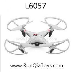 Lishi toys L6057 RC Quadcopter, NO.6057 2.4Ghz remote control radio UFO