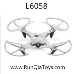 Lishi toys L6058 RC Quadcopter, 2.4Ghz 4CH 6-axis, NO.6058 UFO