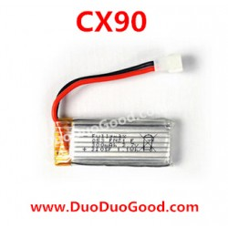 Cheerson CX-90 Helicopter parts, Li-po Battery, cxhobby CX90 flybarless helikopter