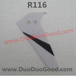 RunQia Toys helicopter R116 parts, Vertical Tail, RunQia Helikopter NO.116