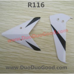 RunQia Toys helicopter R116 parts, Tail Trim, RunQia Helikopter NO.116
