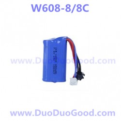 HuaJun W608-8 Quadcopter Parts, 7.4V Battery, W608-8C Challenger speedmax UFO