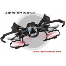 Udirc U27 Quadcopter, Looping flight Quad, 2.4G 6-Axis Loop UFO