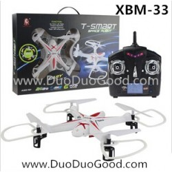 Xiaobaima toys RC Quadcopter, T-smart XBM-33 Quad, 2.4G ufo