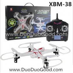 T-smart rc quadcopter, 2.4G UFO XBM-38, li-po battery