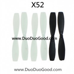 XinXun toys X52 Quadcopter parts, Main Blades, 2.4G 6-axis SKY Devil UFO