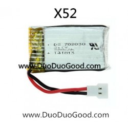 XinXun toys X52 Quadcopter parts, 3.7V Battery, 2.4G 6-axis SKY Devil UFO