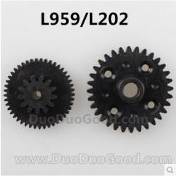Wltoys L959 L202 Racing Car parts, Rear Speed Reducer Gear box Teeth, WL-Toys remote control Car, Top-racing L-959-202