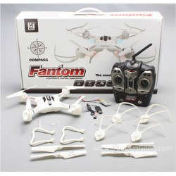 FAYEE FY550 Quadcopter, 4CH 6-Axis RC Phantom-2 Quad Drone Quadrocopter with Camera