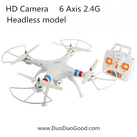 Syma X8C Big Quadcopter with 2MP HD Camera, 2.4G Professional Drones 50CM, 2000mAh Battery