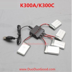 KOOME K300A, K300C RC Quadcopter, Upgrade Battery Charger, 2.4G UFO parts