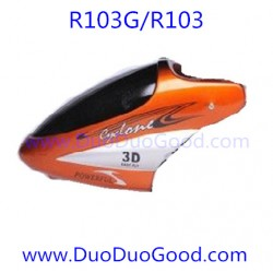 RunQia Big Helicopter R103G, Head Cover, R103 NO.103G 3.5 channels Buil-in gyro
