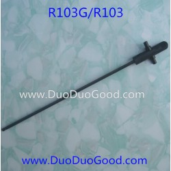 RunQia Big Helicopter R103G, Central shaft, R103 NO.103G 3.5 channels Buil-in gyro