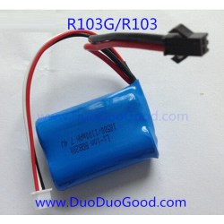 RunQia Big Helicopter R103G, 7.4V Battery, R103 NO.103G 3.5 channels Buil-in gyro