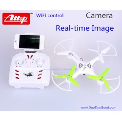 Attop YD-212 Quadcopter Real-time Image, wifi control, SKY Dreamer 2.4G ch UFO