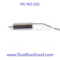 MJ-102 Quadcopter parts, Motor A, MingJi NO.102 SPY UFO 2.4G aircaft