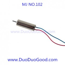 MJ-102 Quadcopter parts, Motor B, MingJi NO.102 SPY UFO 2.4G aircaft