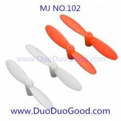 MJ-102 Quadcopter parts, Main Blades, MingJi NO.102 SPY UFO 2.4G aircaft