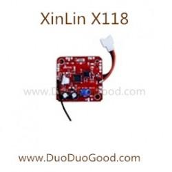 Xinlin x118 quadcopter parts receiver board xin lin x118 explorer