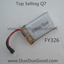 Top Selling Q7 Quadcopter FY326, Battery, 4 CH Quad helicopter FY-326 Parts