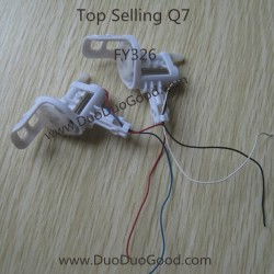 Top Selling Q7 Quadcopter FY326, Motor with Box, 4 CH Quad helicopter FY-326 Parts