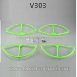 Wltoys V303 Quadrocopter Seeker Parts, Propeller Protective Ring, wlmodel V-303 aerial Quadropter accessories
