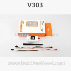 Wltoys V303 Quadrocopter Seeker Parts, fpv 5.8G TS3202 launcher, wlmodel V-303 aerial Quadropter accessories