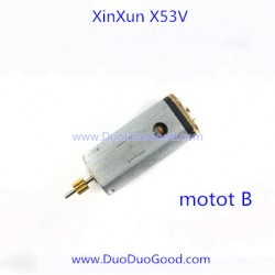 XinXun X53V Quadcopter, Motor B, Xin Xun toys NO.X53V X53 X-53V FPV Quad-copter parts