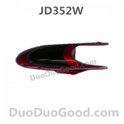 JD352W eagle-i Helicopter parts, Head Cover RED, Jinxingda JD-352W Remote control helikopter accessories