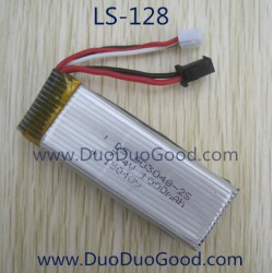 Lian Sheng SKY Hunter LS-128 Quadcopter parts, Battery 7.4V, Liansheng LS128 Quad
