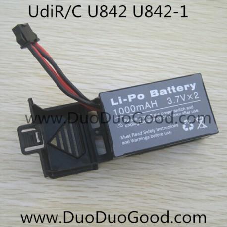 Udi FALCON U842 Quad-copter parts, Battery 1000mAh, UdiR/C U-842 Quadrocopter-01