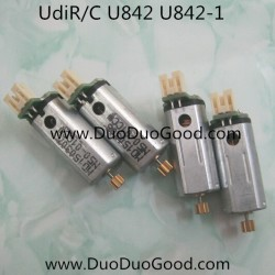 Udi FALCON U842 Quad-copter parts, Motor set, UdiR/C U-842 Quadrocopter-01