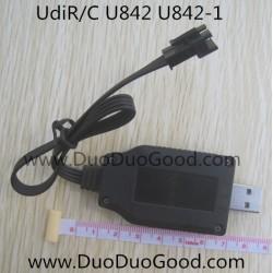 Udi FALCON U842 Quad-copter parts, USB Charger, UdiR/C U-842 Quadrocopter-15