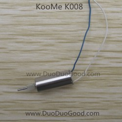 KOOME K008 Helicopter parts, Motor A, blue and white color, KOO ME K-008 RC helikopter