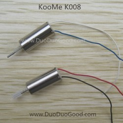 KOOME K008 Helicopter parts, Motor A and B, KOO ME K-008 RC helikopter