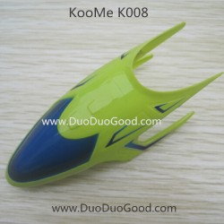KOOME K008 Helicopter parts, Head Cover, KOO ME K-008 RC helikopter