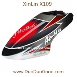 XinLin ShiYe X109 Helicopter Air-Max, Head Cover, XL X-109 Rotor 2.4Ghz Helikopter spare parts