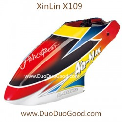 XinLin ShiYe X109 Helicopter Air-Max, Canopy, XL X-109 Rotor 2.4Ghz Helikopter spare parts