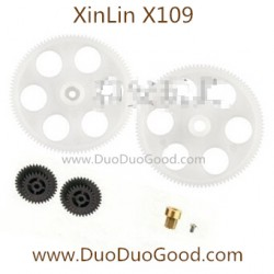 XinLin ShiYe X109 Helicopter Air-Max, Big Gear set, XL X-109 Rotor 2.4Ghz Helikopter spare parts