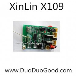 XinLin ShiYe X109 Helicopter Air-Max, Receiver Board, XL X-109 Rotor 2.4Ghz Helikopter spare parts