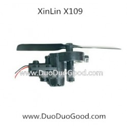 XinLin ShiYe X109 Helicopter Air-Max, Tail Motor set, XL X-109 Rotor 2.4Ghz Helikopter spare parts