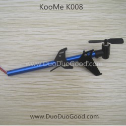 KOOME K008 Helicopter parts, Tail Motor Set, KOO ME K-008 RC helikopter