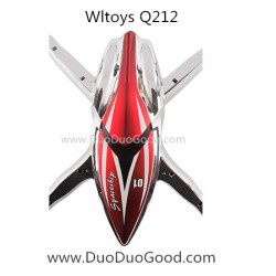 Wltoys Q212 Quadcopter Spaceship parts, Body Shell, WL Q212 FPV real-time Image Quad