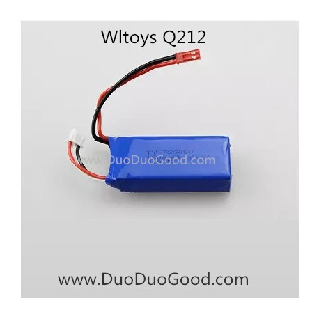 Wltoys Q212 Quadcopter Spaceship parts, Lipo Battery, WL Q212 FPV real-time Image Quad