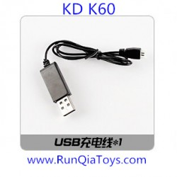 Kai Deng K60 Quadcopter parts, USB Charger, Kaideng KD K60C RC Drone