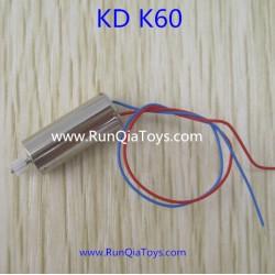Kai Deng K60 Quadcopter parts, Motor A, Kaideng KD K60C RC Drone