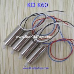 Kai Deng K60 Quadcopter parts, Motor Kit, Kaideng KD K60C RC Drone
