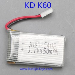 Kai Deng K60 Quadcopter parts, Lipo Battery Original, Kaideng KD K60C RC Drone