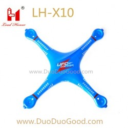 LH-X10 UFO Copter parts, Top body shell blue, Lead honor 2.4G Quadcopter